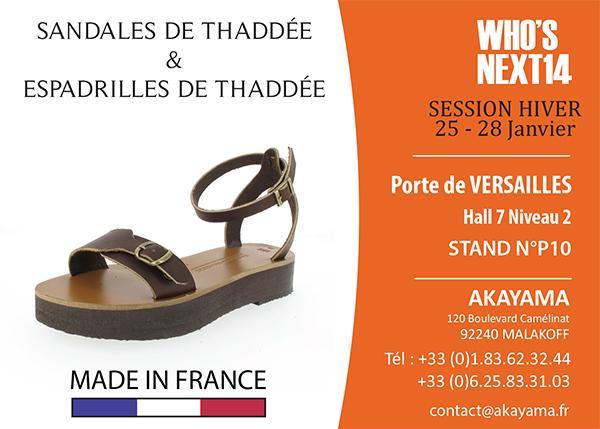 Sandales Thaddée