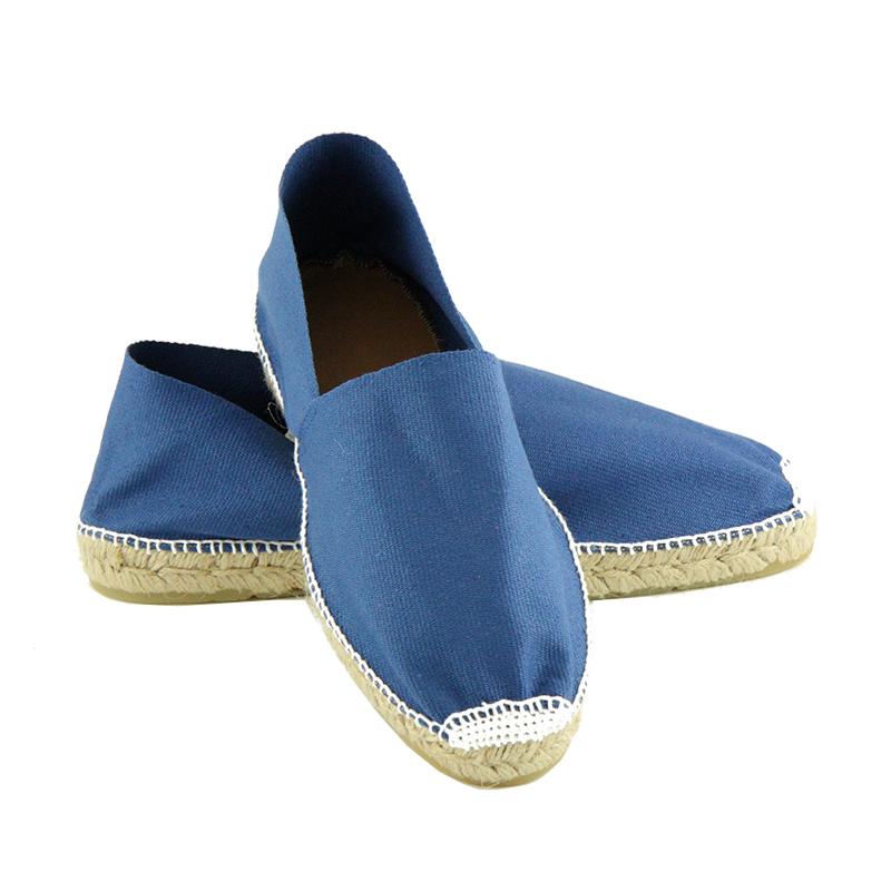 espadrilles bayonne bleu sandales de thadd e. Black Bedroom Furniture Sets. Home Design Ideas
